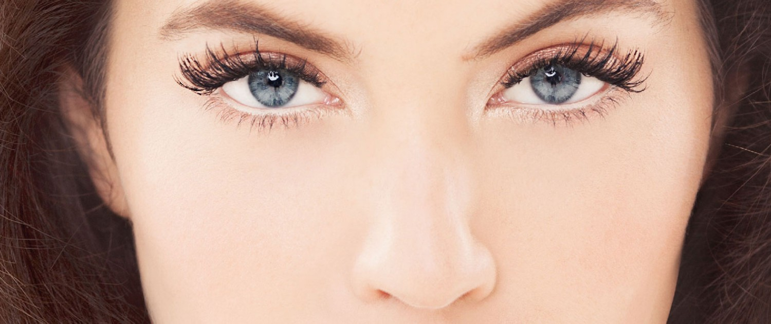 applied directly to your skin or eyelid by an Extensions Stylist
